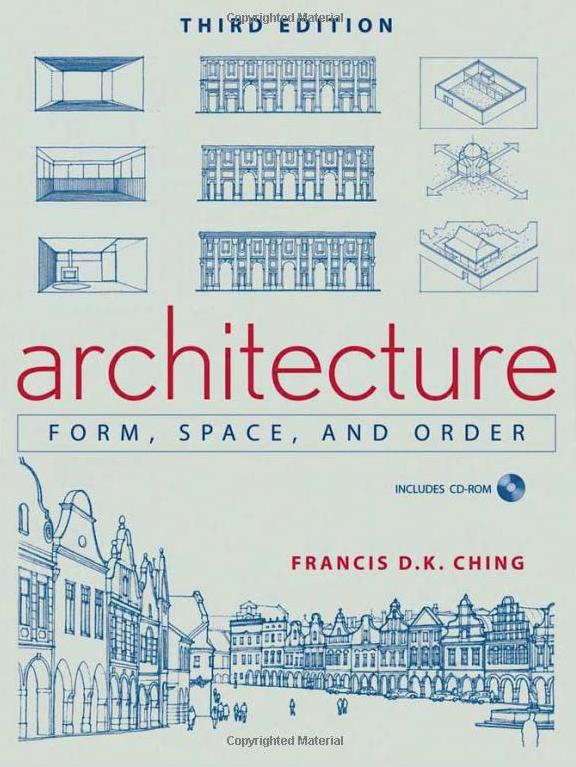francis d k ching architecture form space and order